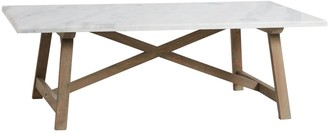 Sasson Home Providence Marble Coffee Table