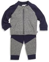 Splendid Baby's Two-Piece Zip-Front Sweater & Jogger Pants Set