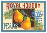 Pear Kitchen Mat