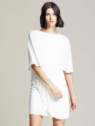 Halston Draped Skirt Dress