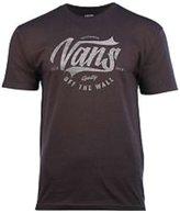 Vans Men's Off The Wall Fayzd Graphic T-Shirt Metal/Grey