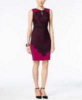Thalia Sodi Lace-Overlay Bodycon Dress, Only at Macy's