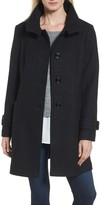 London Fog Women's Stand Collar Coat