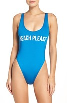 Women's The Bikini Lab One-Piece Swimsuut