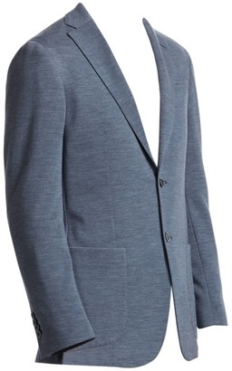Saks Fifth Avenue COLLECTION Heathered Jersey Knit Sportcoat