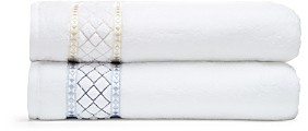 Peter Reed Large Diamonds Washcloth - 100% Exclusive