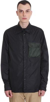 Marni Shirt In Black Tech/synthetic