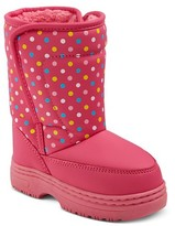 Circo Toddler Girls' Shelby Polka Dot Winter Boots Pink