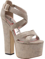 Luichiny Women's Jaw Dropper Platform Sandal