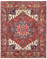HRI Serapi Hand-Knotted Wool Pile Rug - 8x10', Heritage Collection