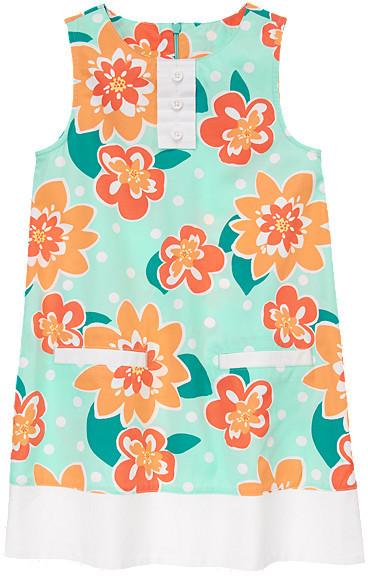 Gymboree Spring Floral Ruffle Dress