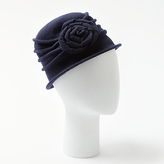 John Lewis Wool Pleat Peony Cloche Hat