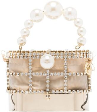Rosantica Holli Hide and Seek embellished mini bag