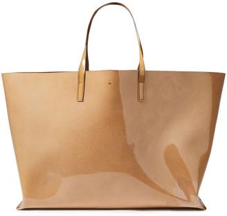 Jil Sander Patent-leather Tote