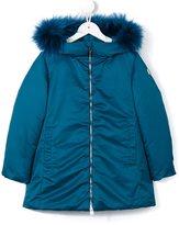 Add Kids hooded rain coat