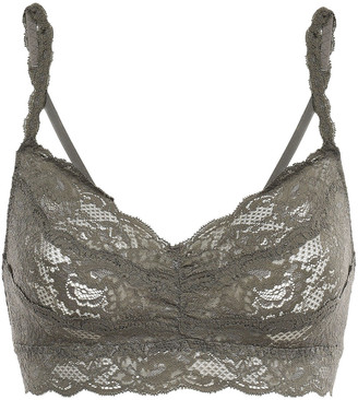 Cosabella Never Say Never Sweetie Ruched Stretch-leavers Lace Soft-cup Bra