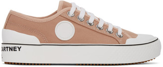Stella McCartney Pink Canvas Sneakers
