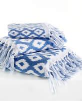 "Dena Home Madison Jacquard 11"" x 18"" Fingertip Towel Bedding"