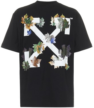 Off-White Leaves Arrows cotton jersey T-shirt