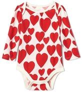 Gap Hearts long sleeves bodysuit