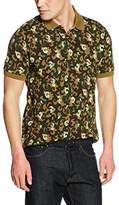 Pretty Green Pretty Men's Riley Camo Short Sleeve Polo Shirt