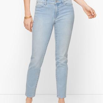 Talbots Slim Ankle Jeans - Curvy Fit - Skillman Wash
