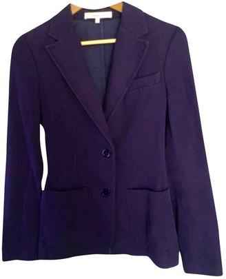 Vanessa Bruno Purple Cotton Jacket for Women