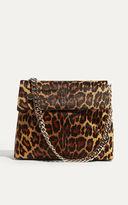 Karen Millen Leopard Print Regent Bag