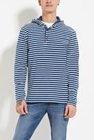 Forever 21 Hooded Stripe Henley