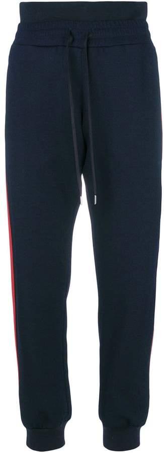 Alexander McQueen stripe detail sweatpants