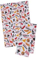 BBQ Fun Dish Towels (Set of 4)