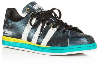 Raf Simons for Adidas Women's RS Samba Stan Leather Low-Top Sneakers