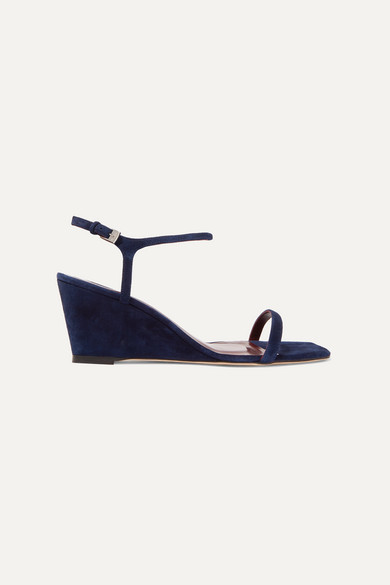 shop for newest best choice how to choose Navy Suede Wedge - ShopStyle