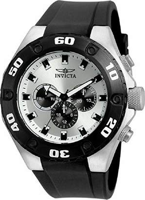 Invicta 21403 Specialty Men's Wrist Watch Stainless Steel Quartz Silver Dial