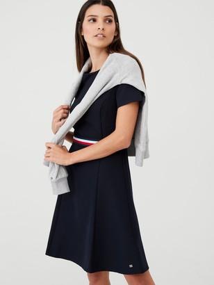 Tommy Hilfiger Britt Short Sleeve Dress - Navy