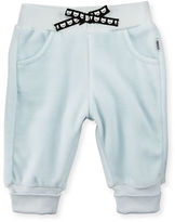 Karl Lagerfeld Velour Track Pants, Size 3-18 Months