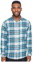 Billabong Freemont Flannel Long Sleeve Top Men's Long Sleeve Button Up