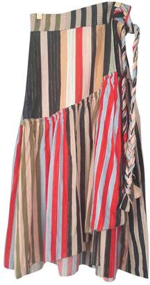 Apiece Apart Multicolour Cotton Skirts