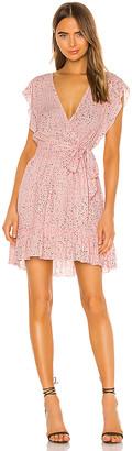 BB Dakota JACK by Funfetti Wrap Dress