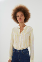 MiH Jeans Collarless Evelyn Shirt