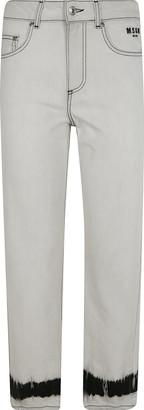 MSGM Straight-leg Cropped Jeans