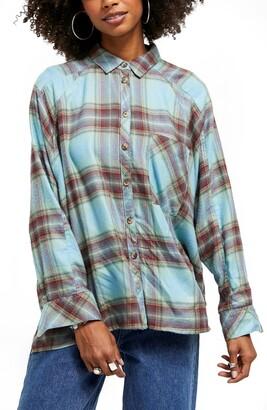 BDG Brendan Plaid Flannel Shirt
