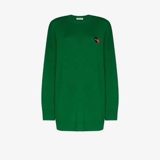 Balenciaga card logo cashmere sweater