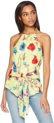 Parker Women's Jill Sleeveless Keyhole tie Waist top