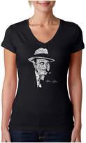 LOS ANGELES POP ART Los Angeles Pop Art Al Capone-Original Gangster Graphic T-Shirt