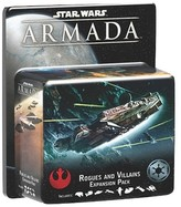 Star Wars Armada Game Rogues and Villains Expansion Pack