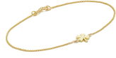 Jennifer Meyer Jewelry 18k Gold Mini Clover Bracelet
