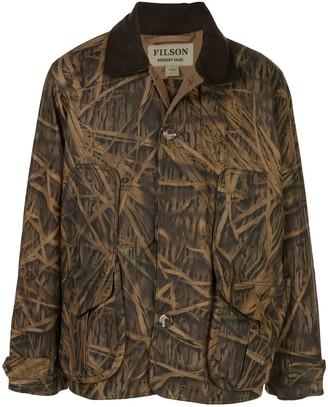 Filson X Mossy Oak camouflage coat