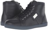 Dolce & Gabbana City Leather High Top Sneaker (Little Kid/Big Kid)