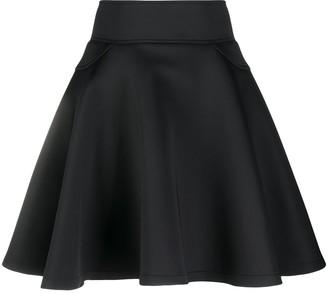 Philipp Plein Pleated A-Line Skirt